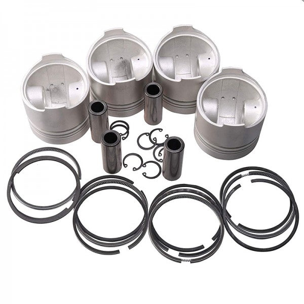 Piston & Piston Ring Set STD 76mm for Kubota V1502 Engine