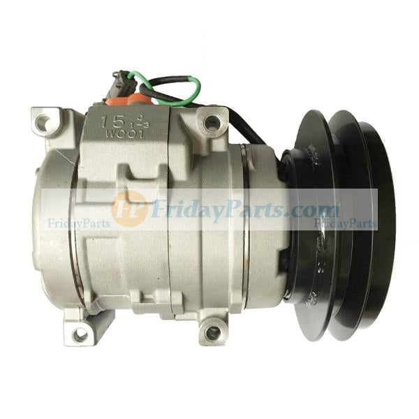 For Hitachi EX1200-5 EX1200-6 FV30 PZX450-HCME TL1100-3 Air Conditioning Compressor 4436025