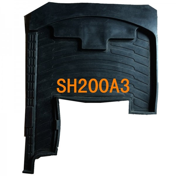 Rubber Cab Floor Mat Foot Gasket for Sumitomo Excavator SH200A3