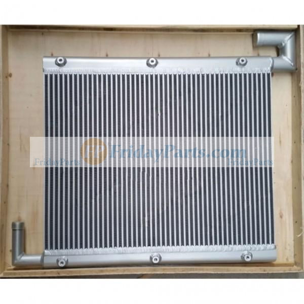 Hydraulic oil cooler 4285627 for Hitachi Excavator EX100-2 EX120-2 ISUZU 4BD1