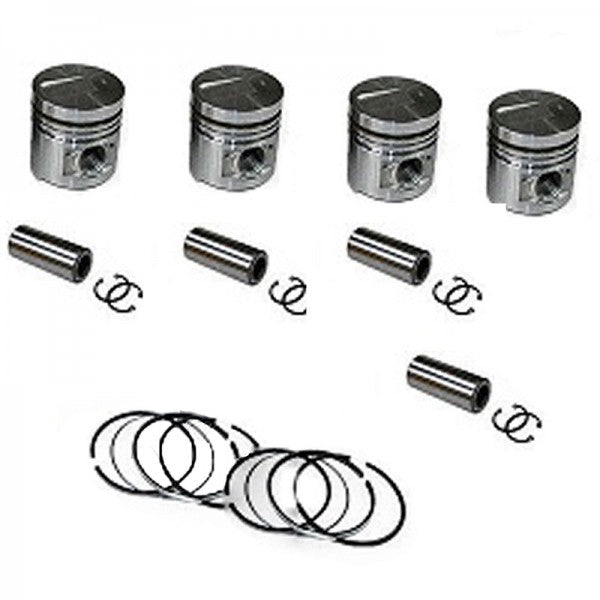 STD 1 Set Piston Kit With Ring for Mitsubishi 4D34 4D34T 3.9L Engine Fuso Canter FE FG