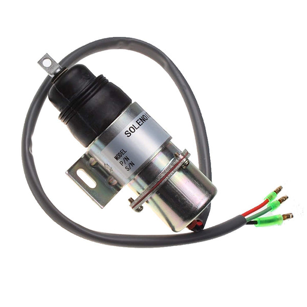 FP Stop Solenoid 894453-3411 8-94453341-0 MV1-58 for Hitachi Isuzu 4JG1 4JG2 6BG1 6BB1 6B61 4J62 4J61 Engine 12VDC in USA