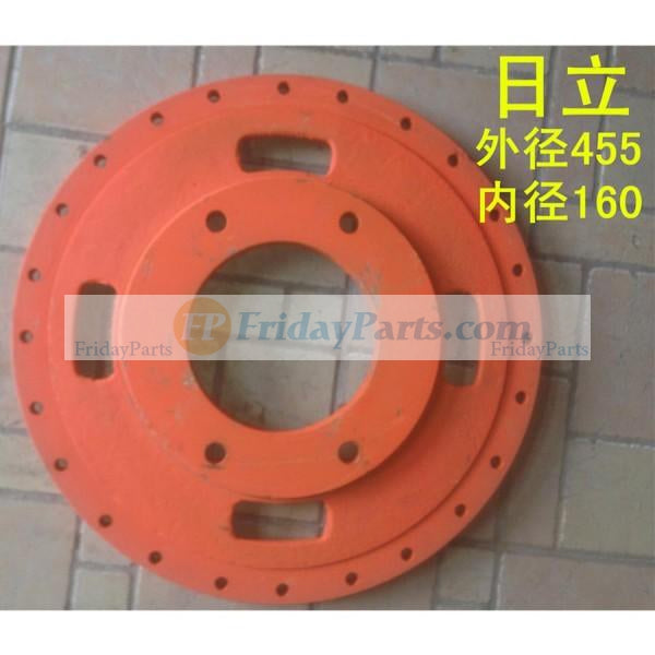 For Hitachi Excavator Hydraulic Pump Thicken Disk Damper Connection Plate