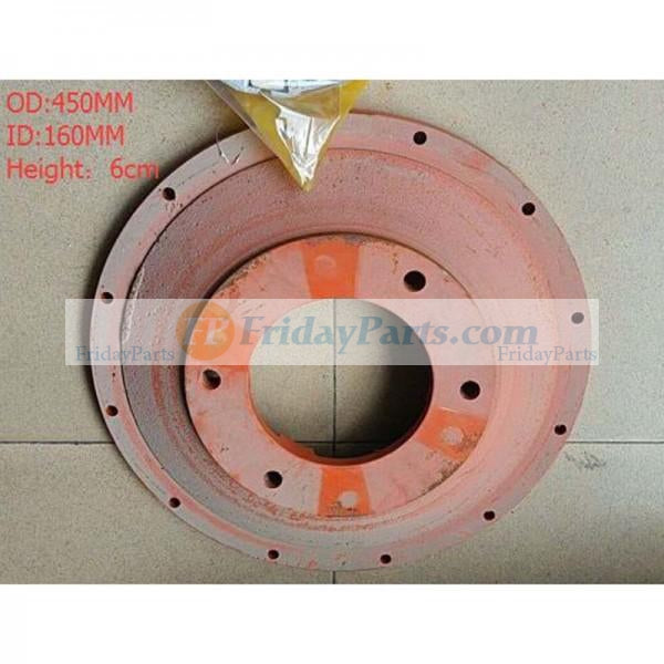 For Excavator Hydraulic Pump K3V112 Protruding Thicken Disk Damper Connection Plate