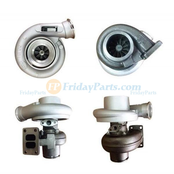 For Komatsu Excavator PC228US-8 PC228USLC-8 PC228US-3E0 PC228USLC-3E0 Engine 6D107E-1 Turbo HX35 Turbocharger 6754-81-8090