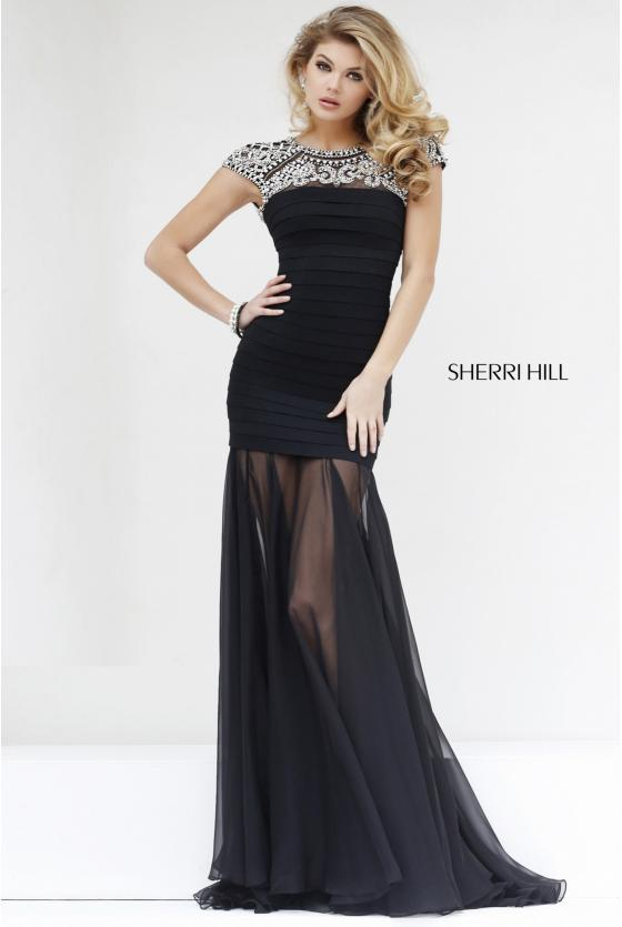 SHERRI HILL - 32287, ${vendor, 0, 2, evening, express, sale, SH-O, sheath, tulle