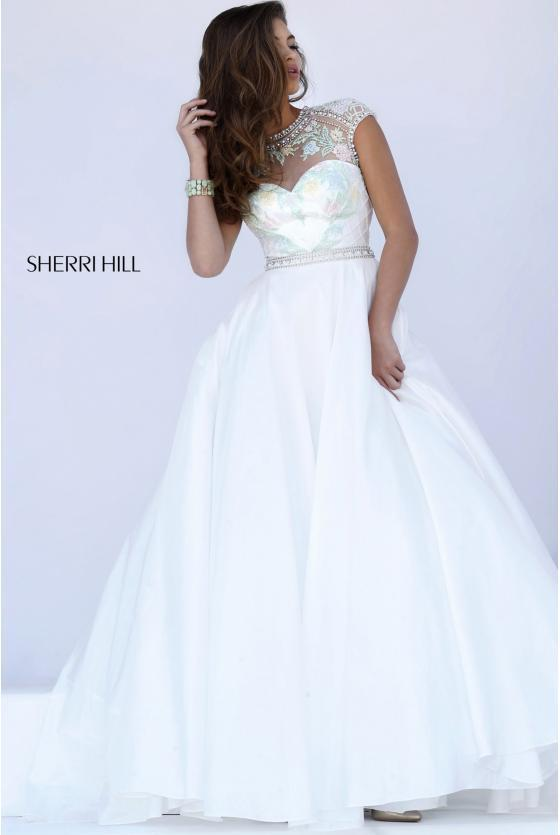 SHERRI HILL - 50084, ${vendor, 12, 16, ballgown, evening, express, sale, SH-O, taffeta