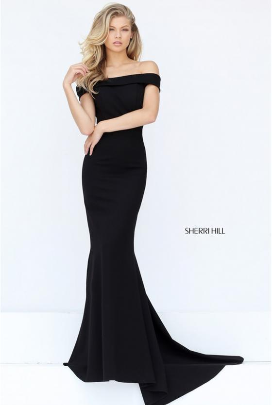 SHERRI HILL - 50824, ${vendor, 12, 2, evening, express, jersey, mermaid, mot, sale, SH-O, sheath