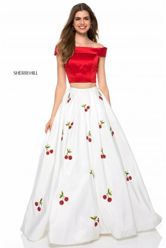 SHERRI HILL - 52030, ${vendor, 10, 12, 4, 6, aline, evening, express, google, sale, SH-O, taffeta