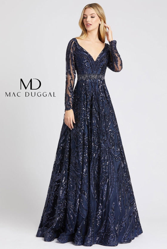 MAC DUGGAL - 67113, ${vendor, 20, 2020, 6, aline, evening, express, google, lace, mac, sleeve, sleeves