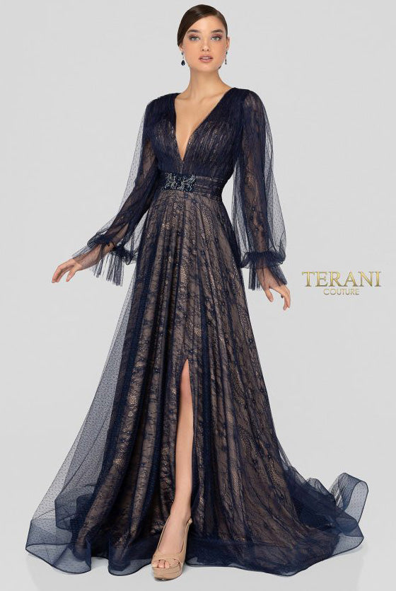 TERANI - 1913M9414, ${vendor, 16, 2020, aline, chiffon, evening, express, google, riyadh20, sp, terani