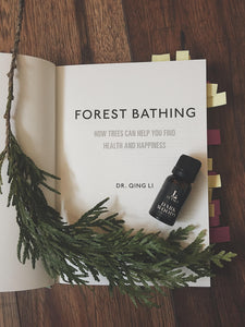 Forest aromatherapy essential oil blend. Made in Canada.