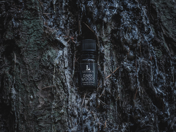 Darkwoods Essential Oil Blend - Made In Canada - Lutska Botanica