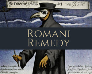 ROMANI REMEDY - Essential Oil Blend - Cinnamon, Clove, Eucalyptus, Rosemary, Lemon, Lemongrass, Pine & Fir Needle