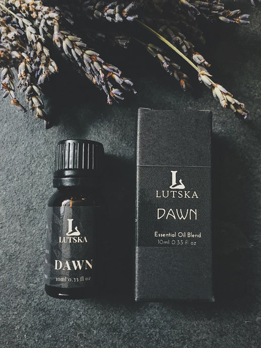 DAWN - Essential Oil Blend - Lavender, Spearmint, Peppermint, Eucalyptus, Geranium.