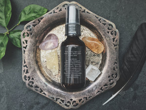 patchouli frankincense spray - smokeless incense - smudge mist