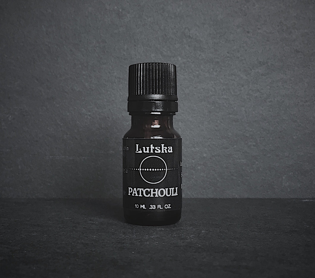 patchouli essential oil by lutska botanica in victoria bc canada