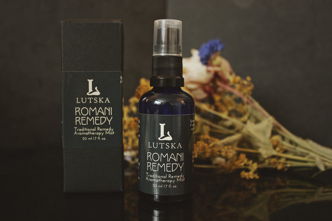 romani remedy - four thieves face mask spray - immune shower spray