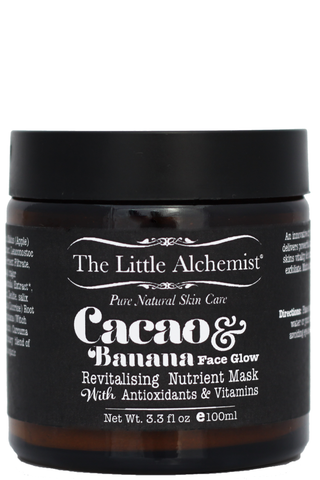 Anti Aging Face Mask Cacao & Banana Face Glow by The Little Alchemist