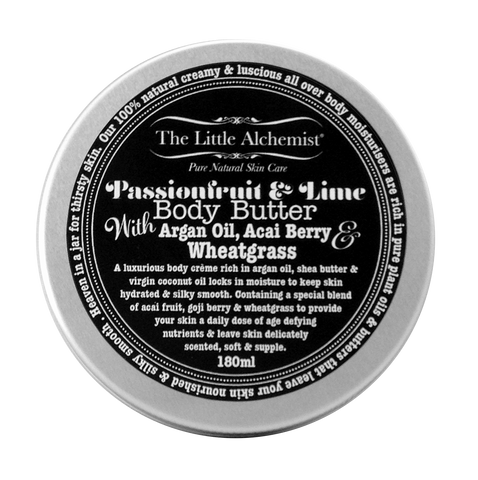 The Little Alchemist passionfruit & lime natural body butter
