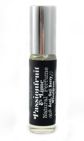 Passionfruit & Lime Natural Perfume by The Little Alchemist natural skin care