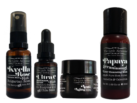 the little alchemist mini kit for natural skin care
