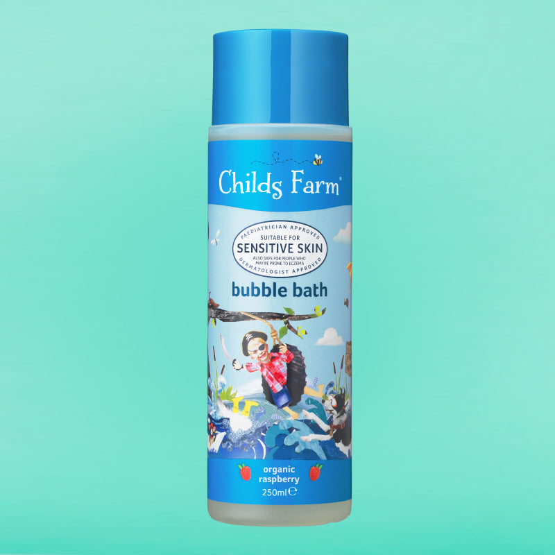 Childs Farm bubble bath, organic raspberry 250ml