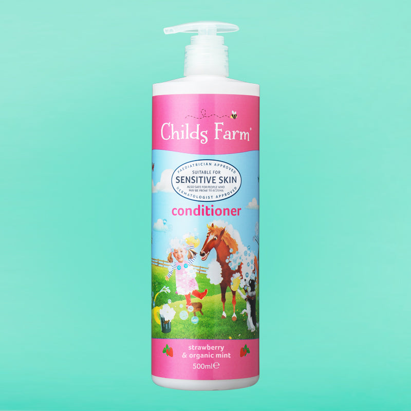 Childs Farm conditioner, strawberry & organic mint 500ml
