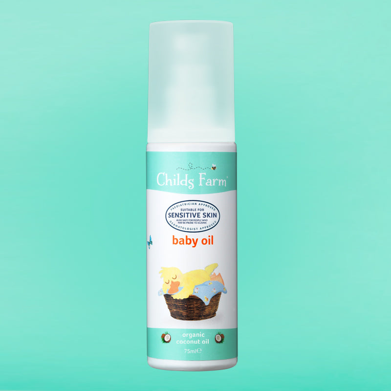Childs Farm baby oil, organic coconut oil 75ml