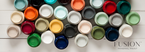 fusion paint colours, fusion mineral paint palette