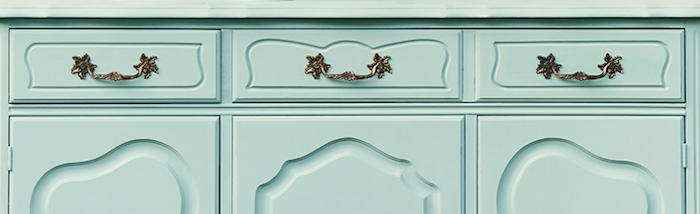 Brook light blue green furniture paint, painted sideboard in fusion mineral paint