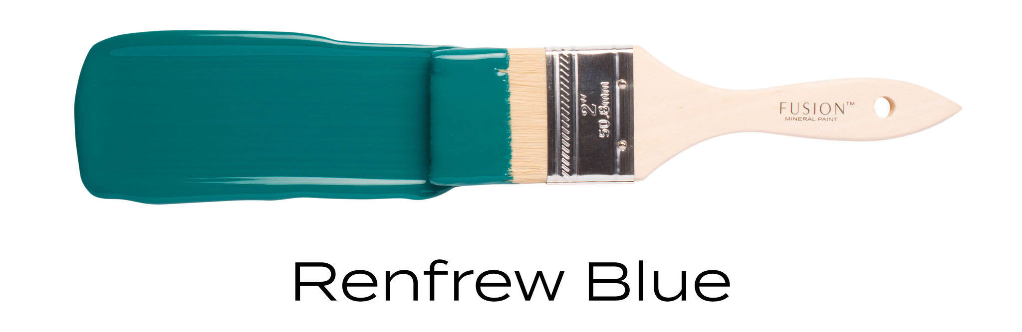 Renfrew Blue teal furniture paint by fusion mineral paint