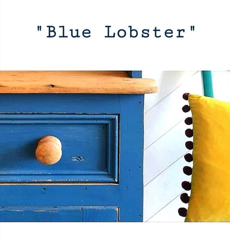 Blue Lobster, Cornish Milk Mineral PaintCornish Milk Mineral PaintPaint