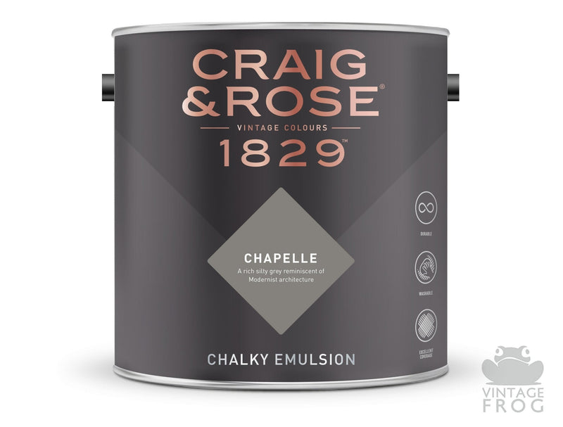 Chapelle, Craig & Rose Paint, 1829 Vintage CollectionCraig & RosePaint
