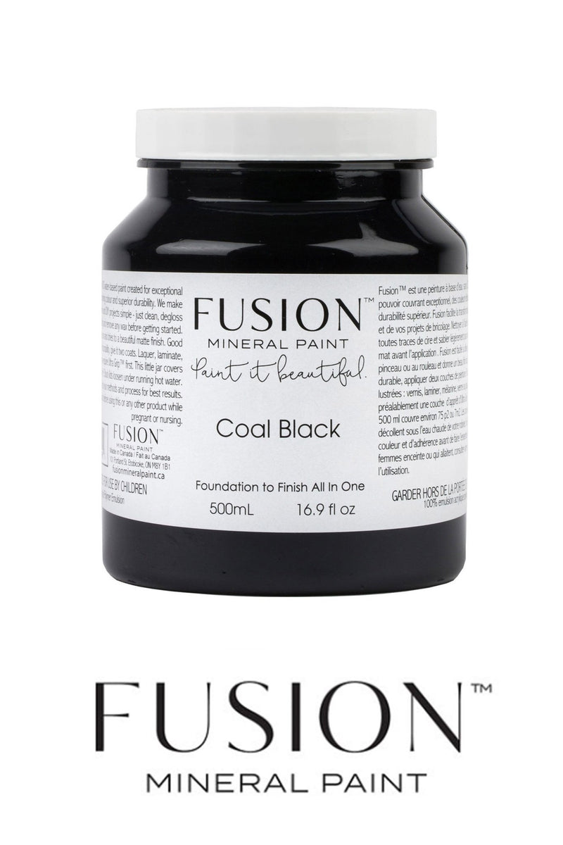 Coal Black, Fusion Mineral PaintFusion™Paint