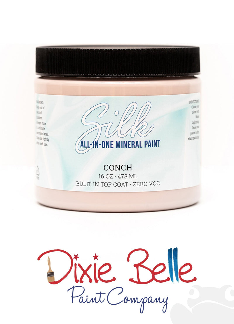 Conch, Silk All-In-One Mineral Paint, Dixie Belle Furniture PaintDixie Belle, Furniture PaintPaint