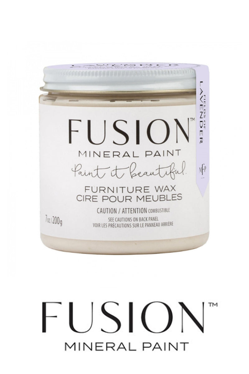 Fields of Lavender Scented Clear Wax Finish, Fusion Mineral Paint - 200gFusion™Wax