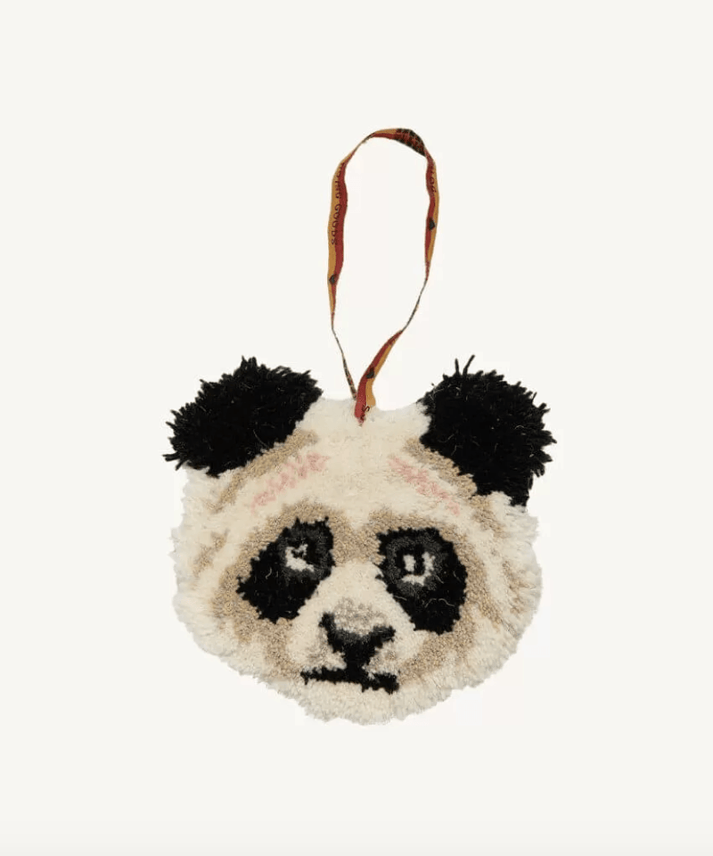 Fluffy Wool Animal Head, Door and Wardrobe Door, Hanging Decoration With PocketDoing GoodsDecor