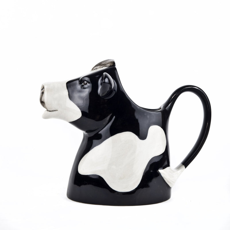 Friesian Cow Jug, Ceramic Milk Jug, Water PitcherQuail CeramicsVase