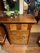 Heal & Son Small Side Cabinet With Cupboard And Drawers / Hall TableVintage FrogVintage Item