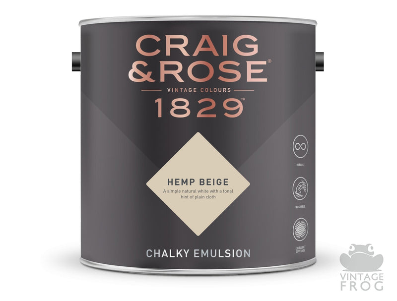 Hemp Beige, Craig & Rose Paint, 1829 Vintage CollectionCraig & RosePaint