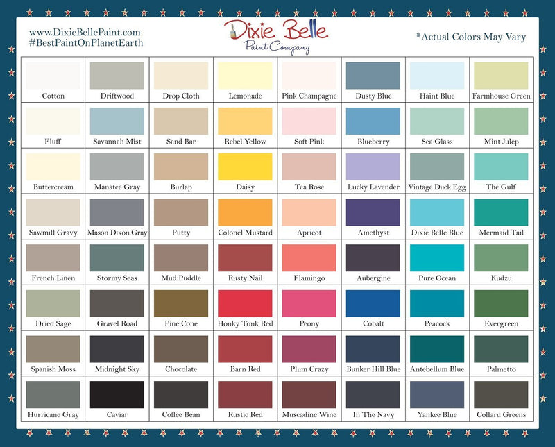 Hurricane Gray, Dixie Belle, Furniture PaintDixie Belle, Furniture PaintPaint