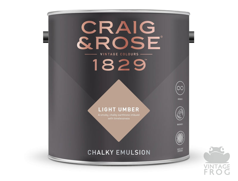 Light Umber, Craig & Rose Paint, 1829 Vintage CollectionCraig & RosePaint
