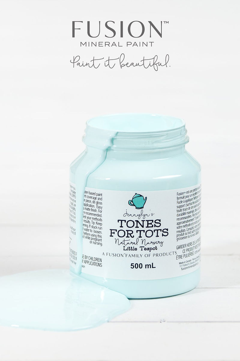 Little Teapot, Fusion Mineral Paint. Tones for TotsFusion™Paint