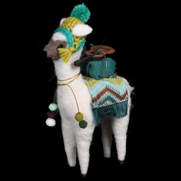 Mariachis The Llama Christmas Tree DecorationVintage FrogChristmas Decor