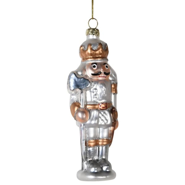 Mini Nutcracker General Christmas Tree Hanging DecorationVintage FrogChristmas Bauble