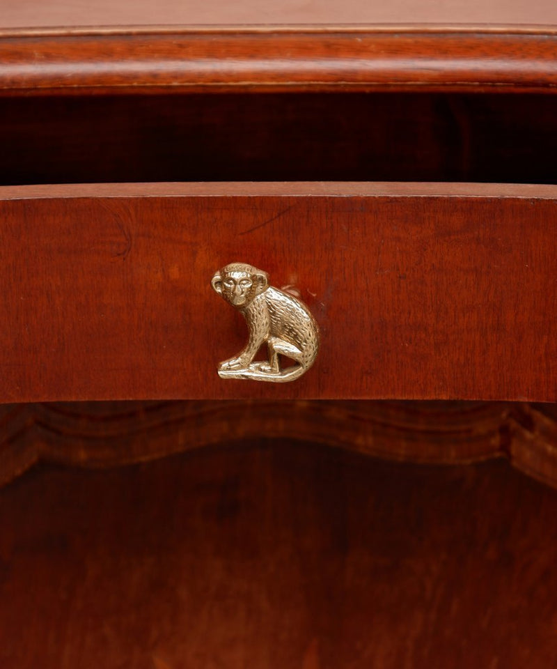 Monkey Knob Right, Brass Cabinet Handle, Furniture DecorDoing GoodsCabinet Handles