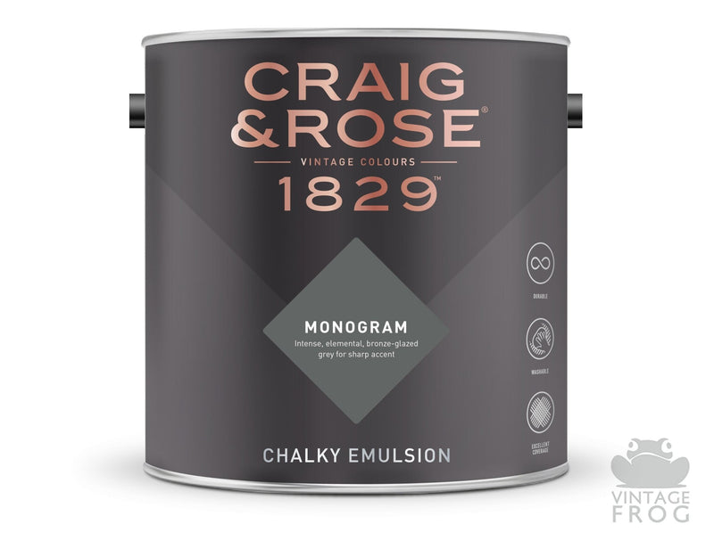 Monogram, Craig & Rose Paint, 1829 Vintage CollectionCraig & RosePaint