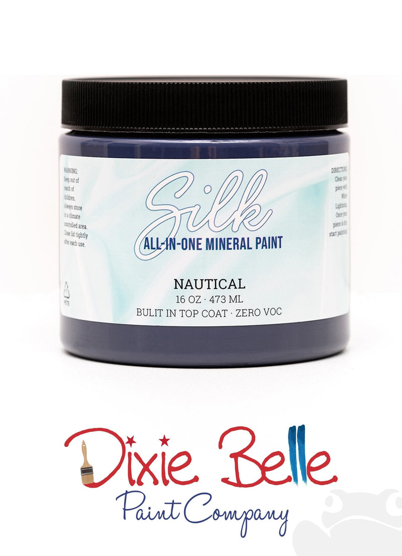 Nautical, Silk All-In-One Mineral Paint, Dixie Belle Furniture PaintDixie Belle, Furniture PaintPaint
