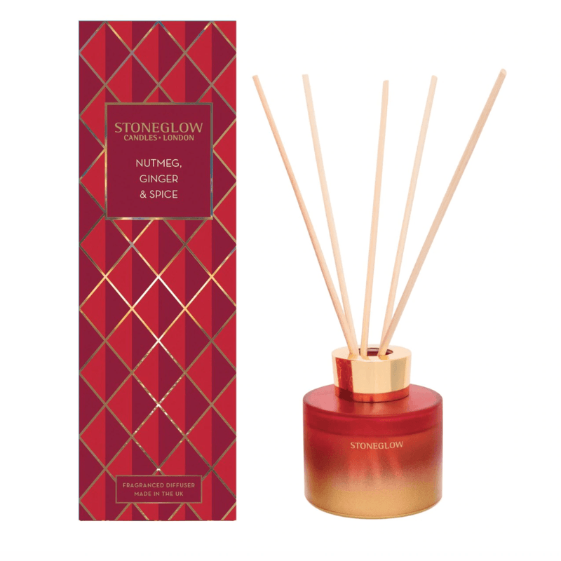 Nutmeg, Ginger & Spice, Stoneglow Reed Diffuser - Seasonal CollectionVintage FrogDiffuser